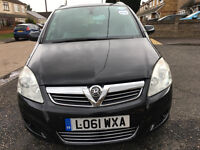 2012 VAUXHALL ZAFIRA 1.6 PETROL 7 SEATER JUST 43000 MILES.WITH PCO LICENCE