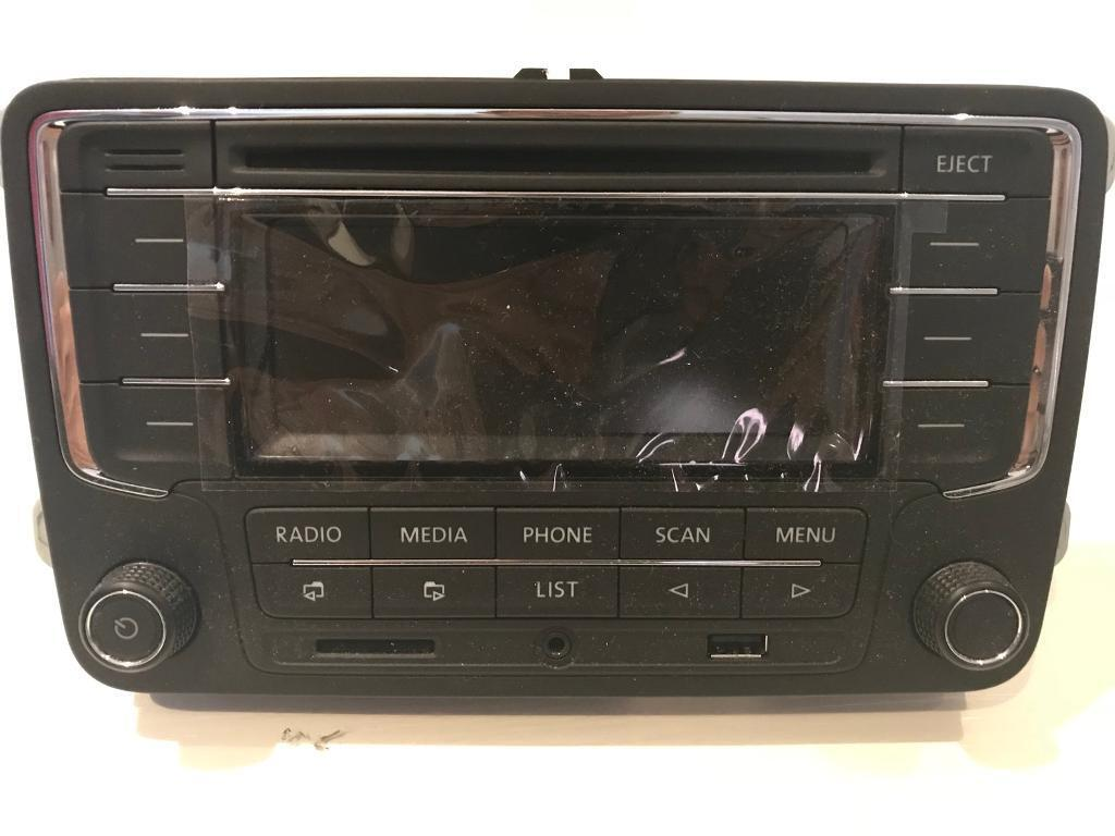 VW Double Din Bluetooth Stereo