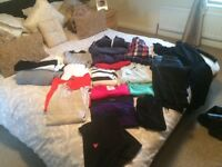 Large bundle woman clothes size 8