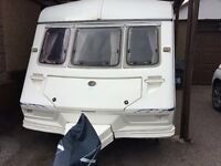 Abi globetrotter caravan for sale. 2 berth comes with mover , includes water and waste containers