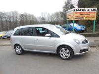 Vauxhall Zafira 1.6CC Petrol, With 12 Months MOT