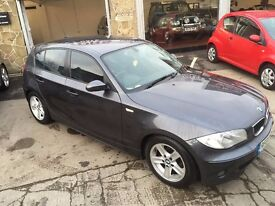 BMW 1 SERIES 2.0 120D SPORTS 5DR LADY OWNER PERFECT DIESEL 3 MONTHS WARRANTY