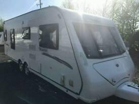 Elddis avante 624 fixed bed 2011 with motor mover touring caravan