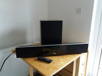 Philips DVD Home Theatre System Sound Bar & Sub