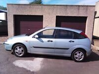 2003 Ford Focus 1.6 Zetec mot till March 2017 only done 73000 miles