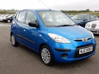 2008 hyundai I10 with only 59000 miles, motd june 2018, nice example £30 a year tax