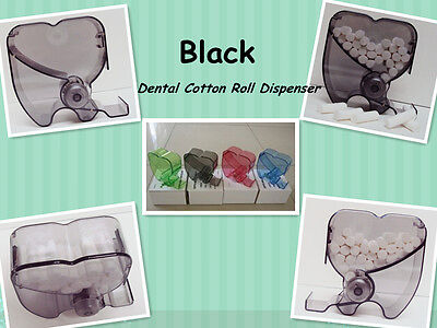 New Dental Black Cotton Roll Dispenser Holder Organizer 135 Autoclavable