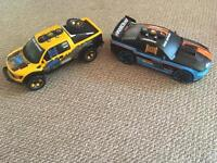 2x car (Toy State Industrial )Road Rippers