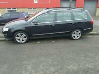 Vw passat estate 1.9tdi 2007 with long mot and leather interior
