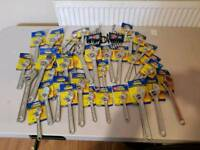 Job lots of lock and spanners Wrench all size