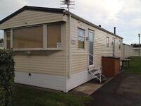 Trecco bay 8 berth caravan for hire, Last minute deal november 21st-25th mon-fri £120