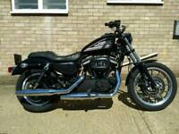 Harley Davidson Sportster 883R only 2070 miles