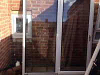 upvc patio doors ideal for summer house £100