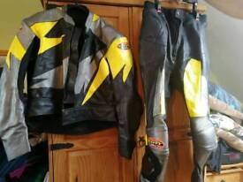 Bike leathers