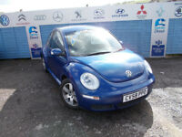 PART X DIRECT OFFERS VW BEETLE 1.6 LUNA IN V.G.C DRIVES A1 WITH NEW MOT SERVICE+WARRANTY FINANCE ME