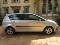 Toyota Corolla Verso 7 seater, petrol, manual