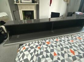 FREE!!! IKEA Besta Burs Glossy Grey Desk Cupboard