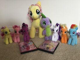 My Little Pony soft toy bundle