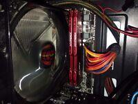 HyperX FURY 16 GB (2 x 8 GB) 1866 MHz DDR3 CL10 DIMM Memory Module Kit - Red