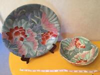 Chinese plate and bowl