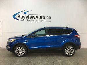 2017 Ford Escape Titanium - ALLOYS! REM STRT! PANO ROOF! ROOF...