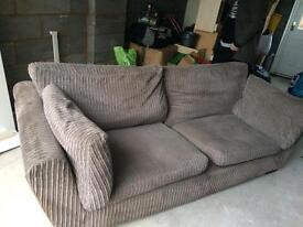 Grey/beige sofa