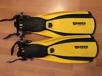 2x scuba/snorkelling fins - Mares Plana Avanti - TUSA tri-ex