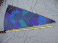 Vintage Stained Glass Window ( Spares/Repair )..