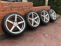 "19"" Zito VW T5 T6 Transporter Amorok Vivaro Refurbished Alloy wheels & Tyres"