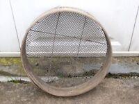 Old garden sieve
