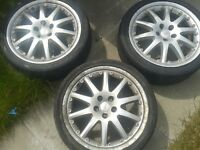"""Ford 18"""" alloys for sale"""