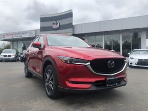 2018 Mazda CX-5 GT Leather Navigation Only 1118KM
