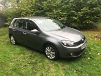VW GOLF 2.0 TDI 140 DSG excellent condition a lovely drive full service history 1 year mot