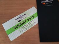 Goodwood festival of speed ticket