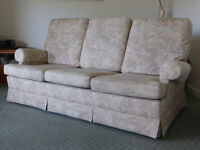 PARKER KNOLL 3 seater sofa and armchair