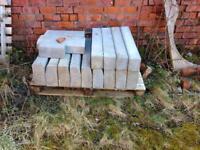 Job lot of kerb stones