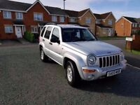 2003 jeep cherokee 2.8 crd automatic limited edition 4x4 only 46k miles from new