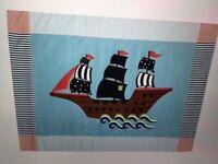 Laura Ashley Pirate Ship Rug