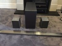 LG Music Flow System , Soundbar , Sub , 2 x Speakers , & Bridge