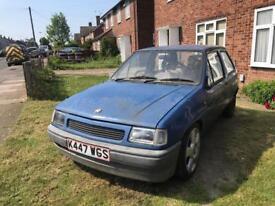 Vauxhall nova 2.0 8v 115 project spares or repair