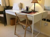 SOLD, pending pick up Desk MICKE from Ikea, White