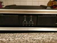 4 channel power amp with ABS case