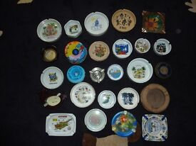 Ashtray collection - 26 Ashtrays from around the World (Unused)