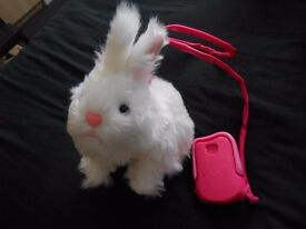 HOLLY GOES HOPPING RABBIT TOY (LISTED TIL SOLD)