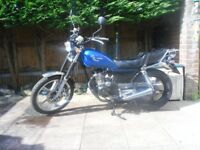 better bt 125cc 125 cc , fully serviced, 12 months mot, low mileage, many new parts
