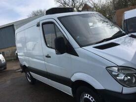 mercedes sprinter short wheel base fridge or freezer van.2012.with standby