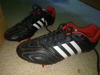 Men's Adidas 11nova football boots size 11 as new