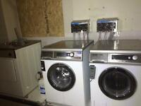 Commercial washing machines and dryers equipment