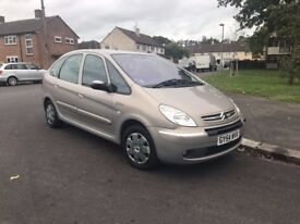2005 Xsara Picasso, AUTOMATIC, 12 months MOT, 62k only.