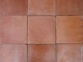 "New 9X9"" Red Victorian Quarry Tiles."
